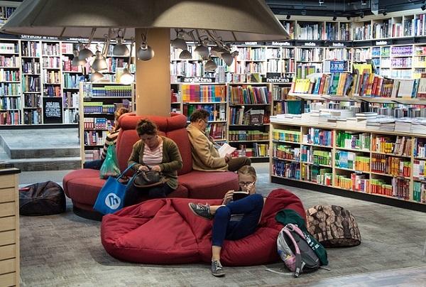 Помощь в книжном магазине