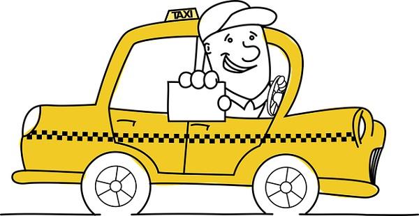 обратиться к водителю такси
